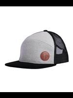 L&P Apparel L&P, Black & Grey Orleans Snapback Trucker Cap