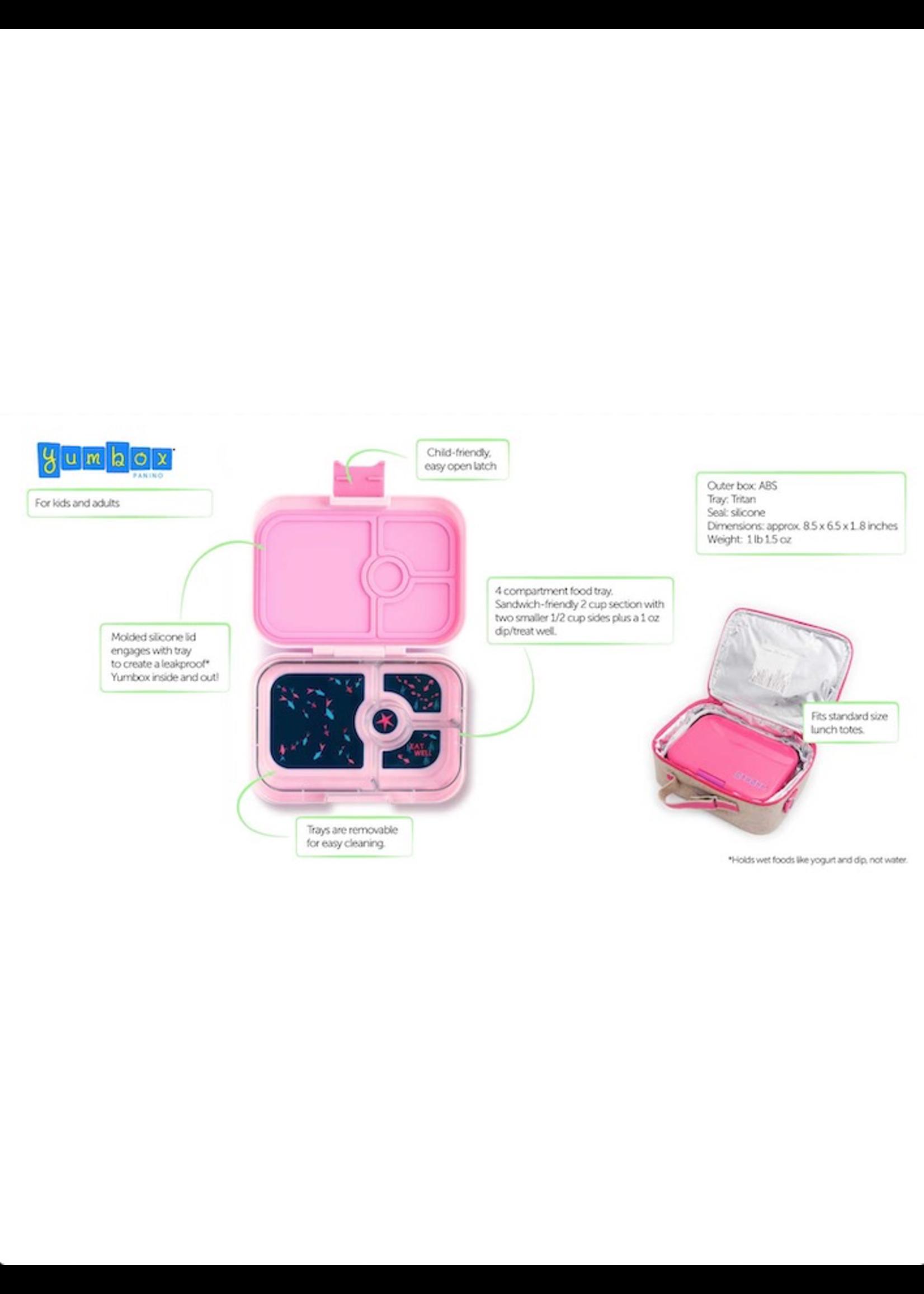 Yumbox Yumbox, Panino 4 Compartment Bento Lunchbox