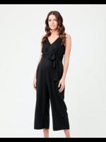 Ripe Maternity Ripe Maternity, Naomi Tencel Jumpsuit in Black