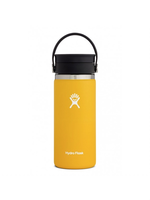Hydro Flask Hydro Flask, 16 oz Wide Mouth  Flex Sip Lid Insulated Stainless Steel Bottle in Sunflower