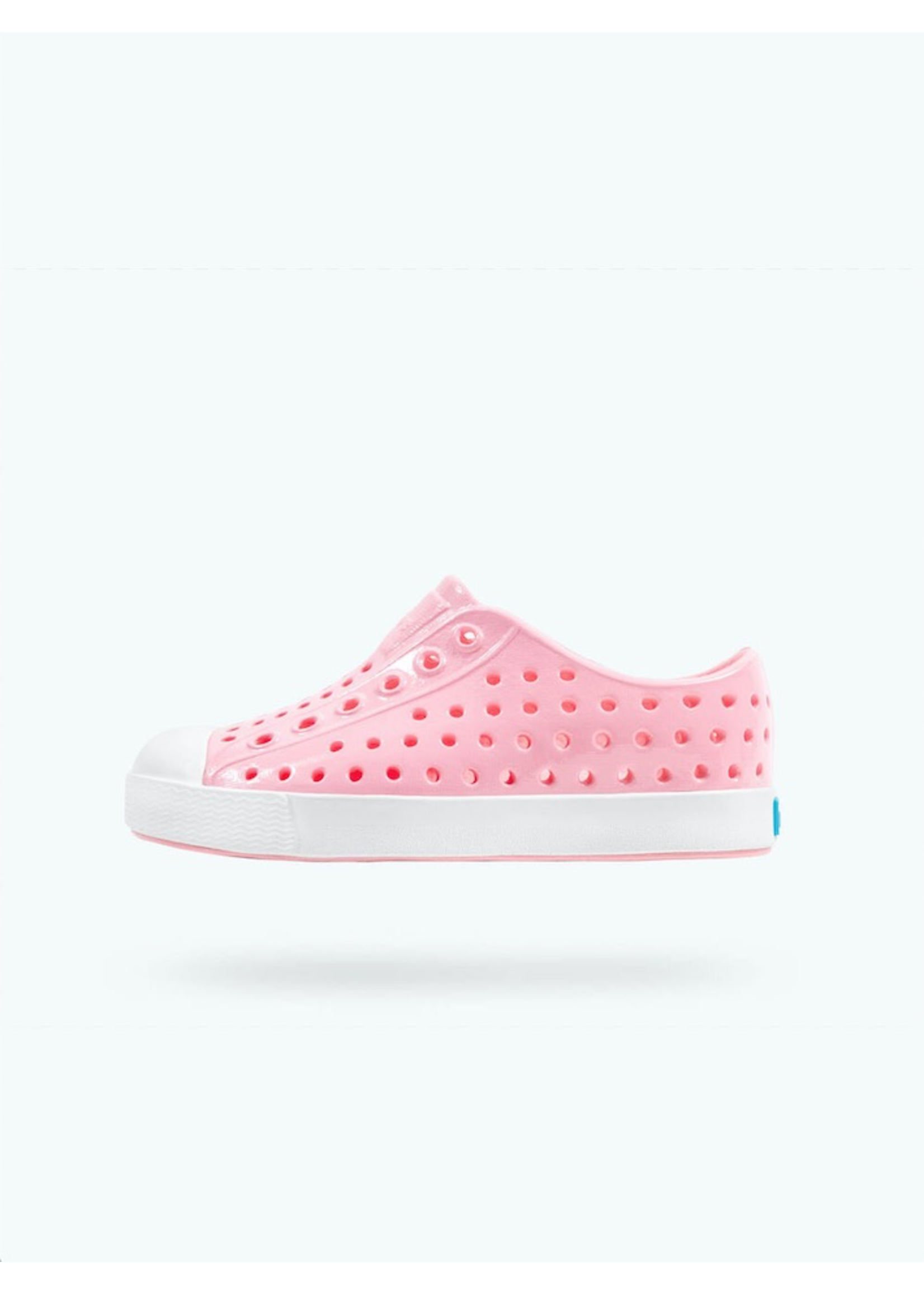 Native Shoes Native Shoes, Jefferson Gloss Child in Princess Pink