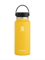 Hydro Flask Hydro Flask, 32 oz Wide Mouth 2.0  Flex Cap Insulated Stainless Steel Bottle in Sunflower