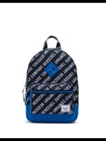 Herschel Supply Co. Herschel Supply, Heritage Backpack | Kids, Roll Call Black/White/Lapis Blue, 9L