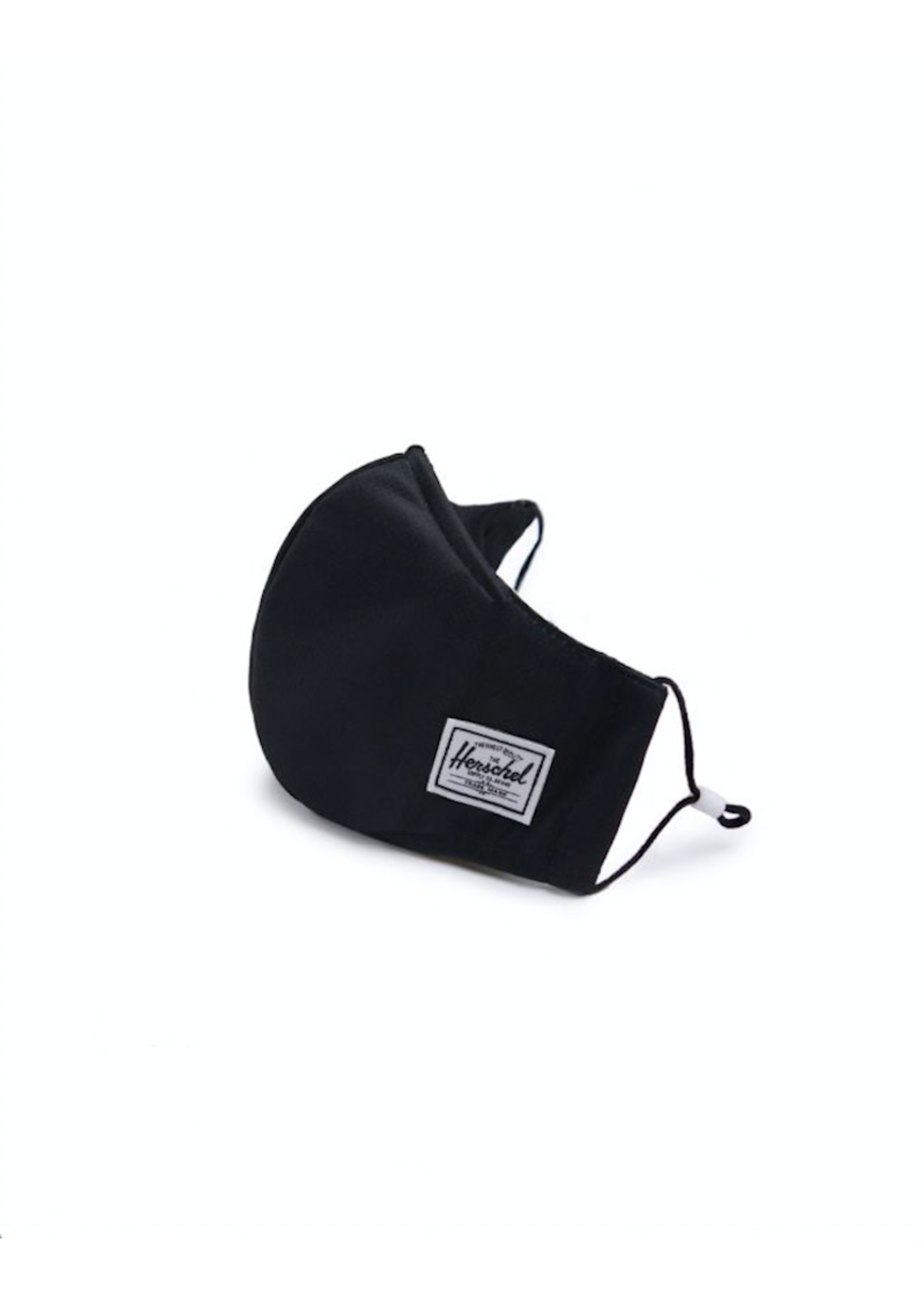 Herschel Supply Co. Herschel Supply, Classic Fitted Face Mask, Adult, Black