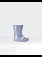 Hunter Boots Hunter Boots, Original Kids First Classic Nebula Rain Boots in Pulpit Purple