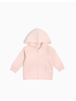 """Miles Baby Miles Baby, """"Miles Basic"""" Pink Zip Up Hoodie for Girl"""