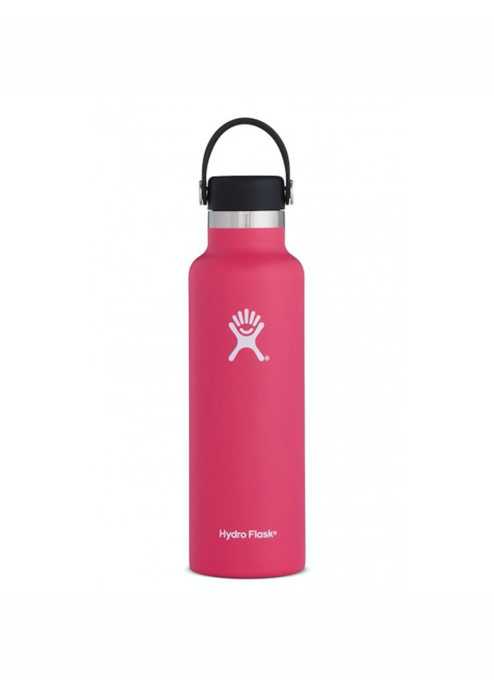 Hydro Flask Hydro Flask, 21 oz Standard Mouth Flex Cap Insulated Stainless Steel Bottle in Watermelon