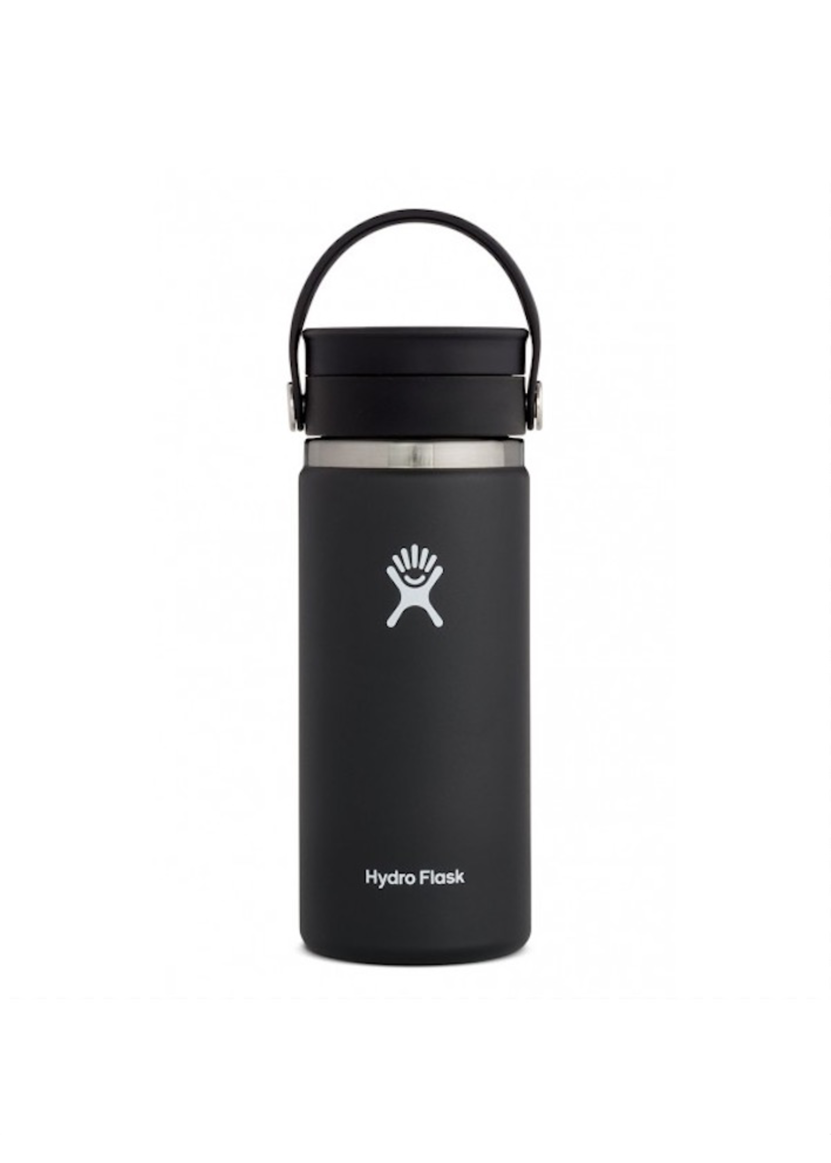 Hydro Flask Hydro Flask, 16 oz Wide Mouth  Flex Sip Lid Insulated Stainless Steel Bottle in Black