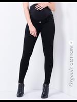 Seraphine Seraphine, Freddie, Black Organic Cotton Over Bump Maternity Jeans