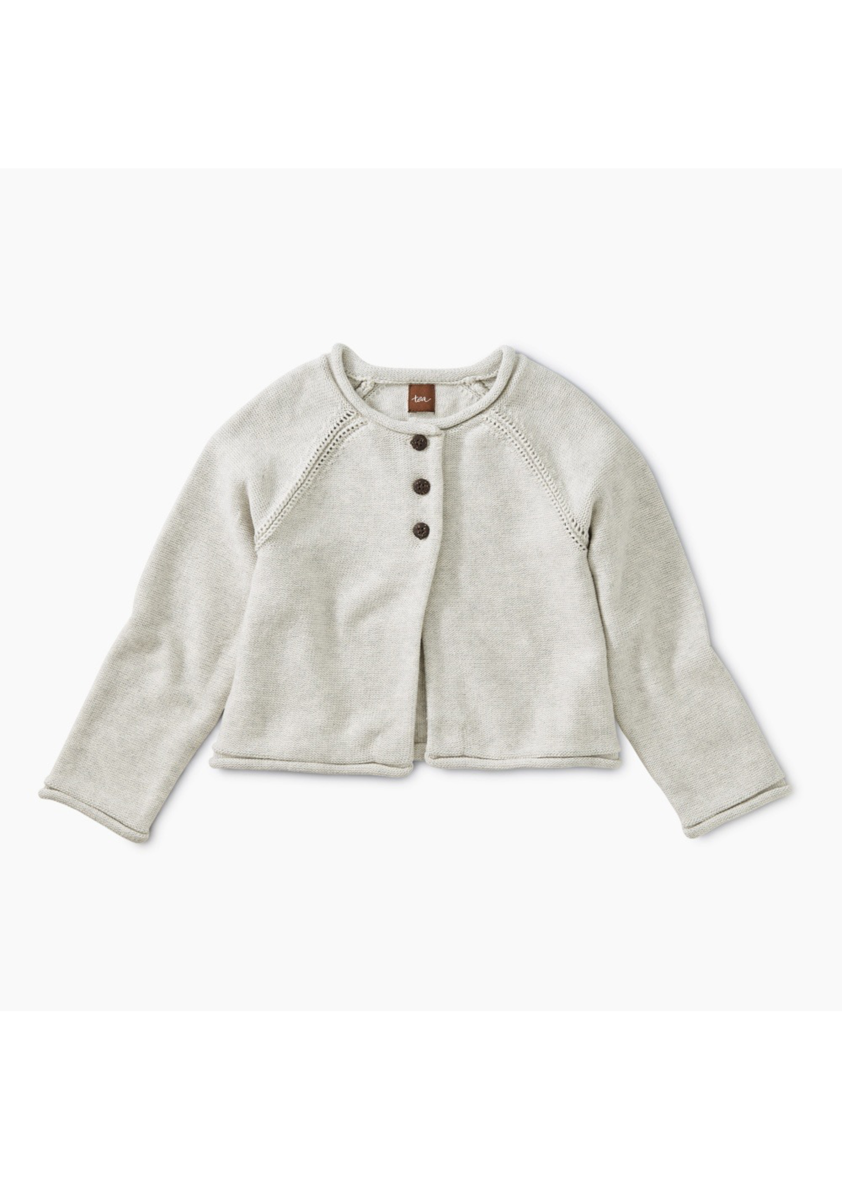 Tea Collection Tea Collection, Solid Raglan Sweater Cardigan for Girl