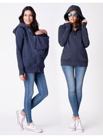 Seraphine Seraphine, Connor: 3-In-1 Active Hoodie in Navy
