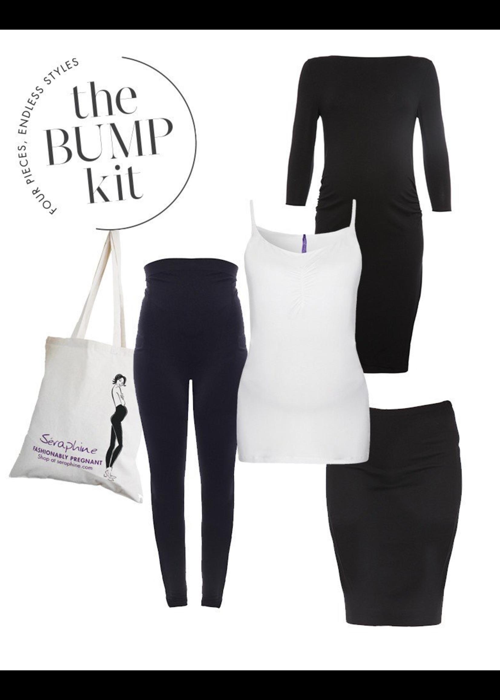 Seraphine Seraphine, London Bump Kit - Maternity Dress, Vest, Leggings & Skirt