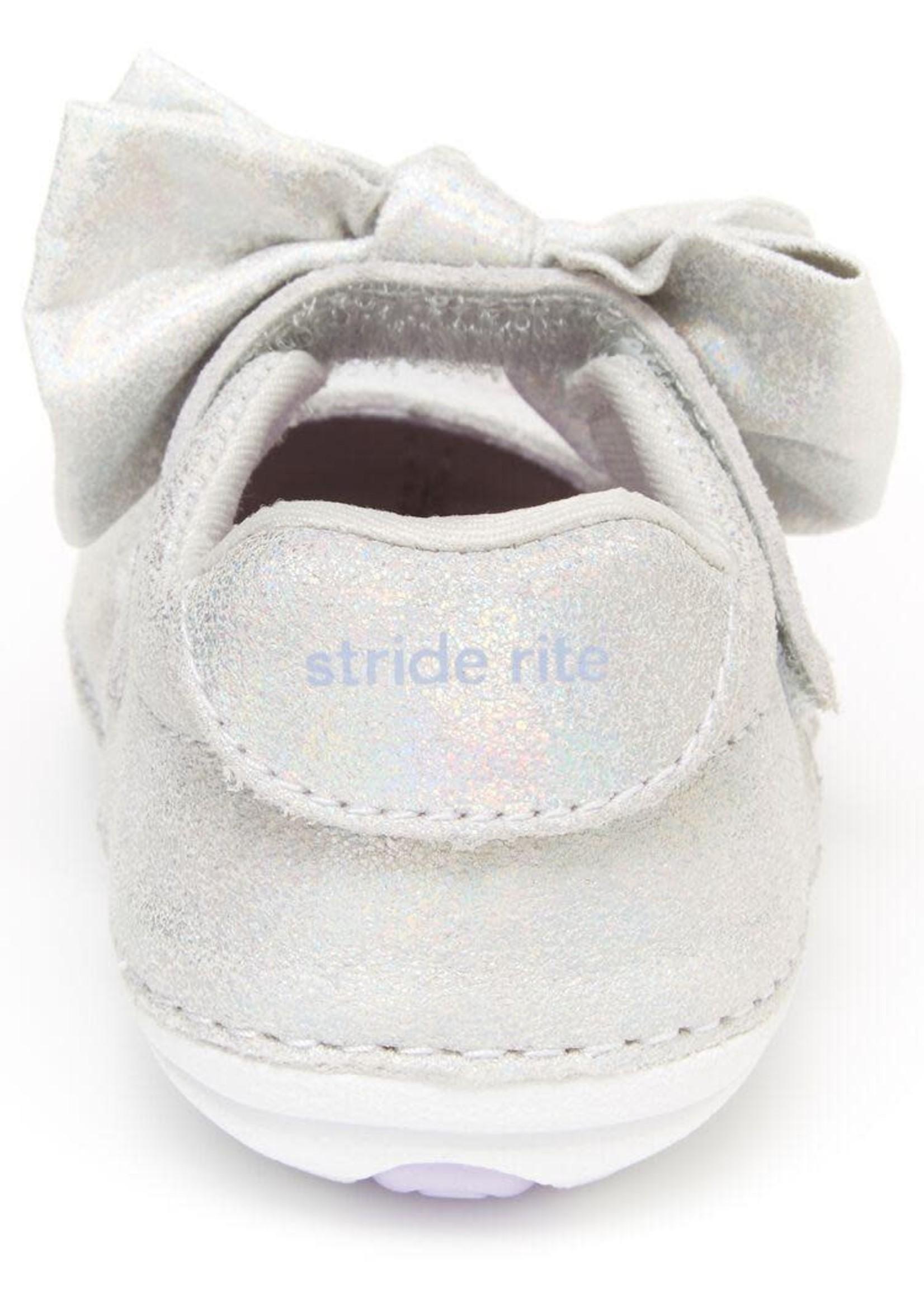 Striderite Stride Rite, Esme, Soft sole Mary Jane with Bow - P-61357