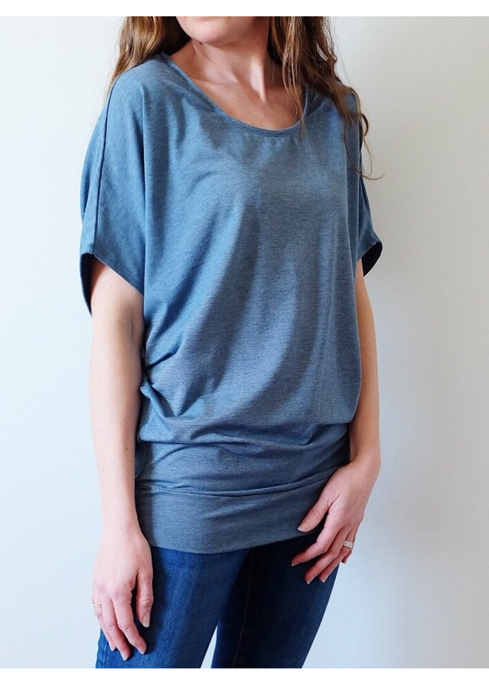 Au Fait Mama Au Fait Mama, Short Sleeve Batwing T-Shirt