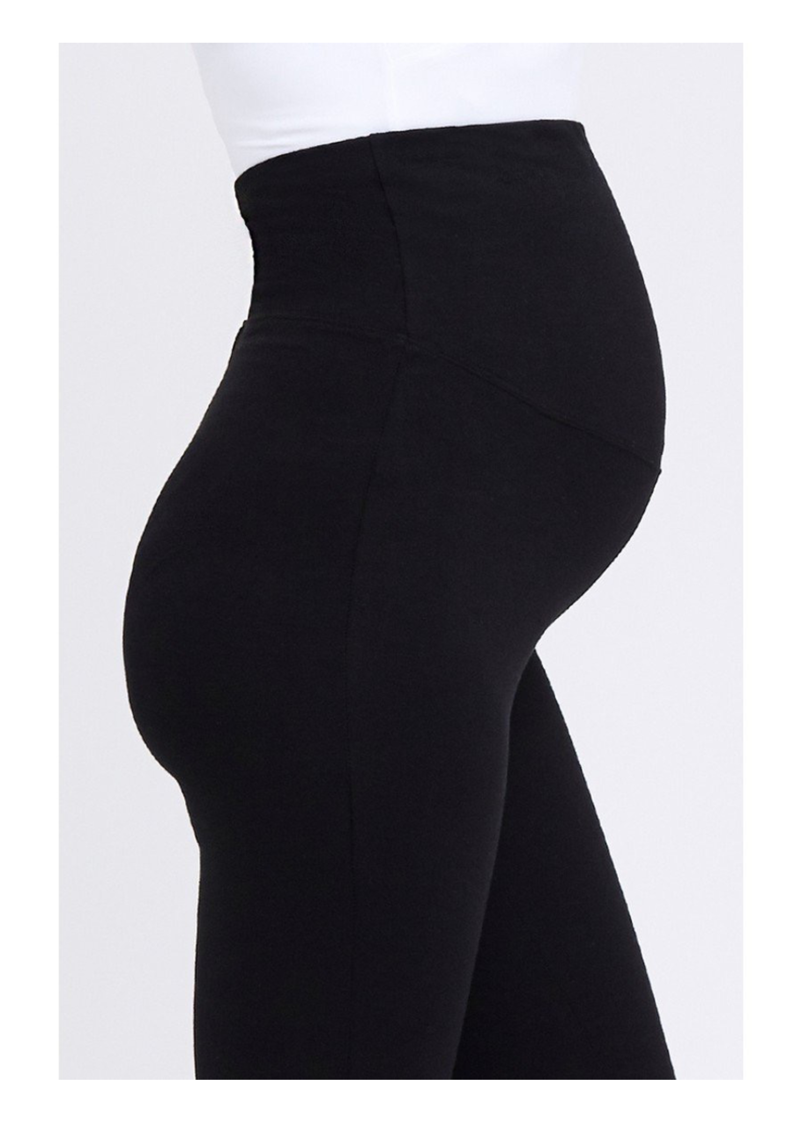 Ripe Maternity RIpe Maternity, Organic Over Tummy Maternity Legging in Black