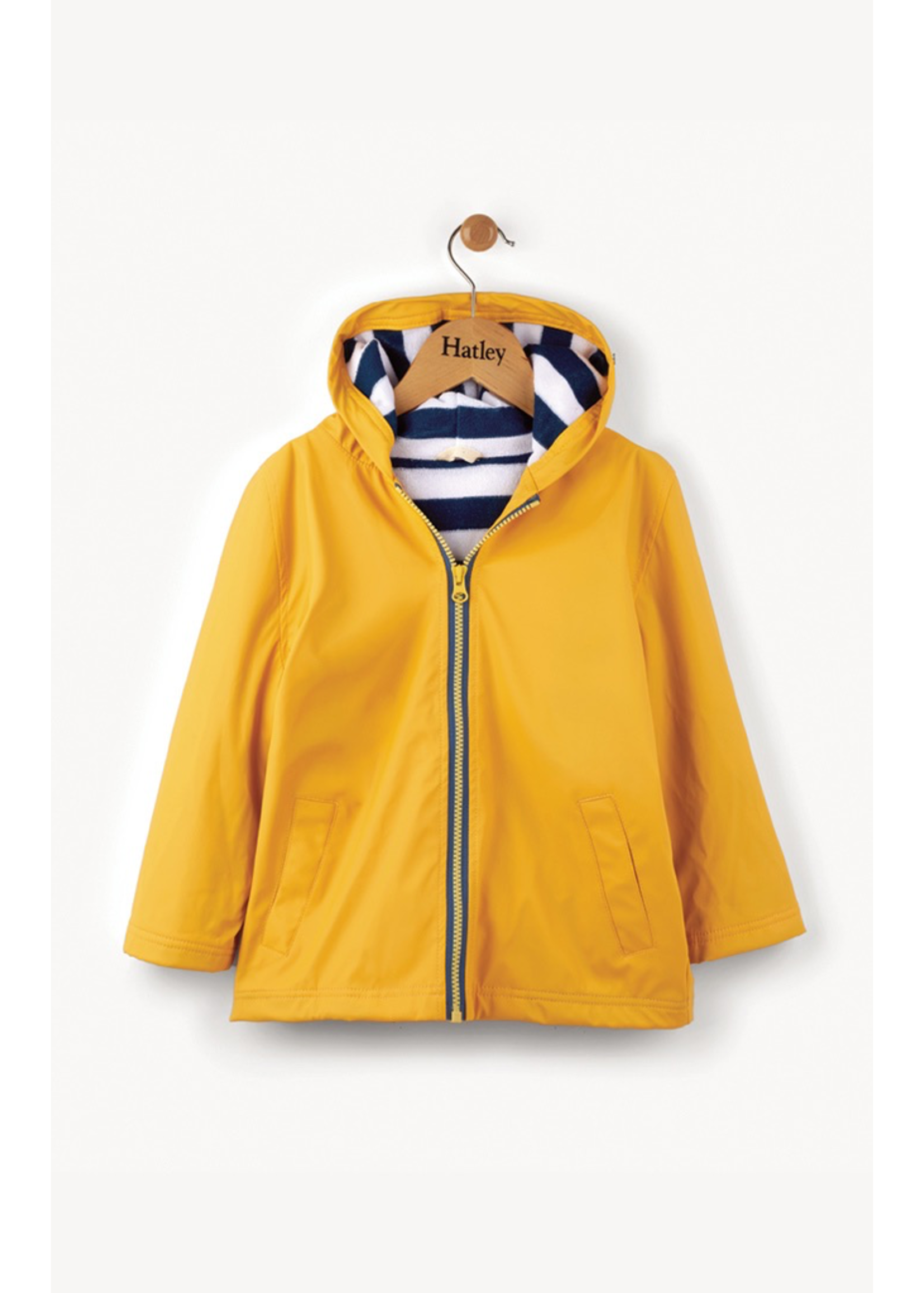 Hatley Hatley, Yellow & Navy Splash Jacket for Boy