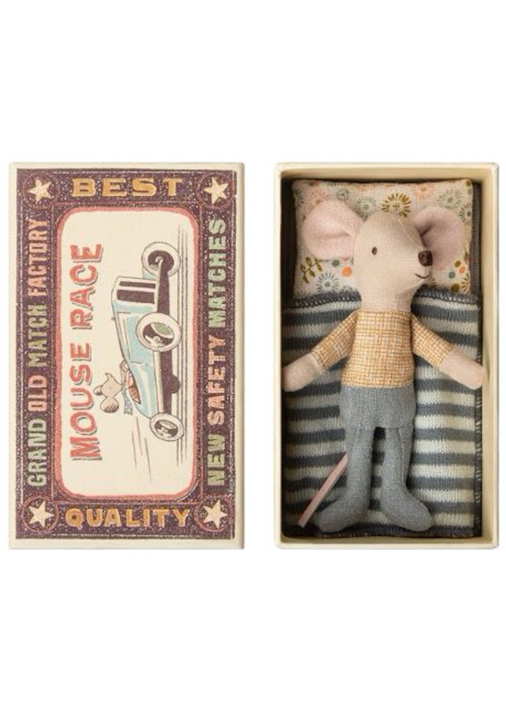 Maileg Maileg-Little brother mouse in box