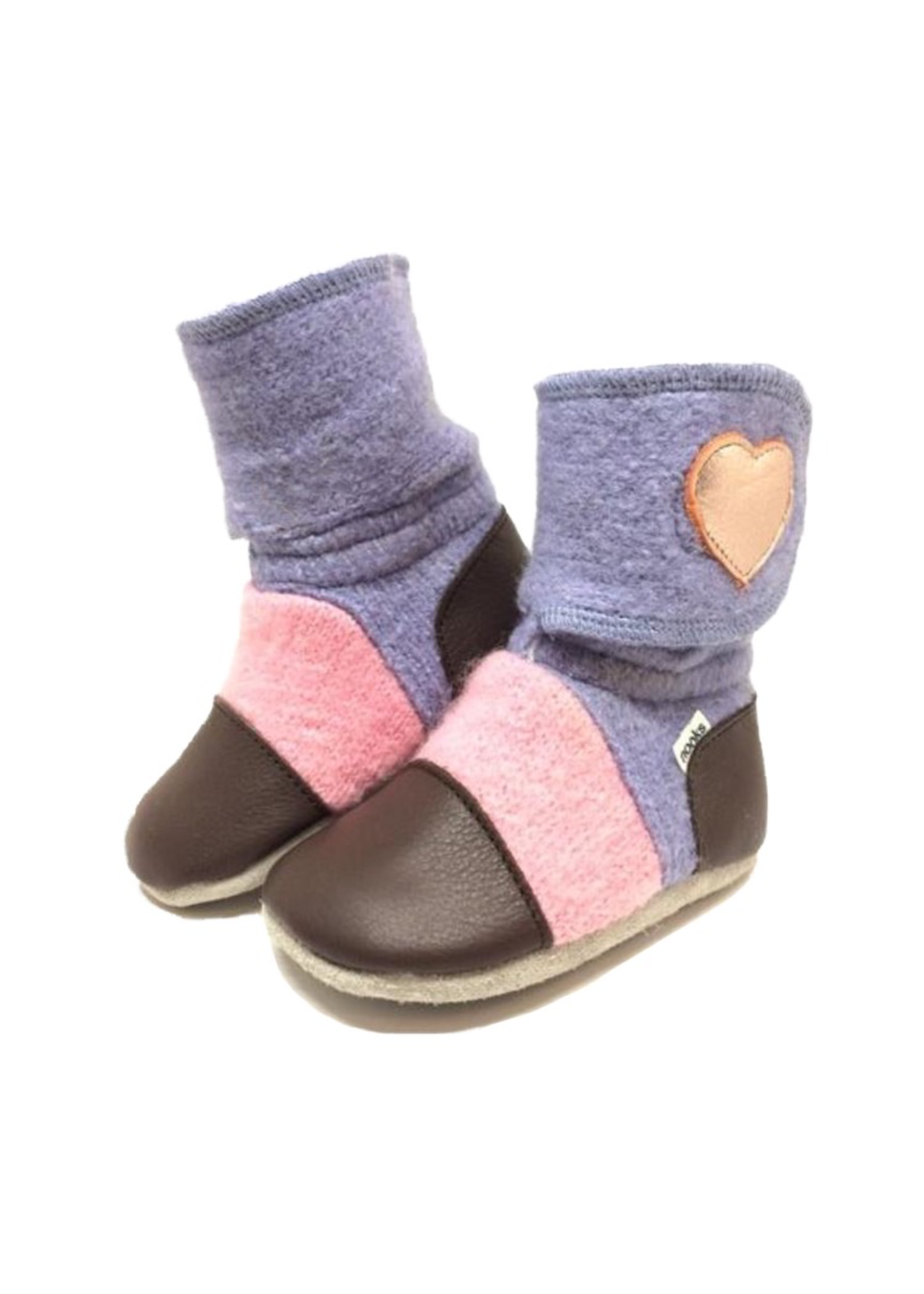 Nooks Design Nooks Design- Felted Wool Booties - P-59172