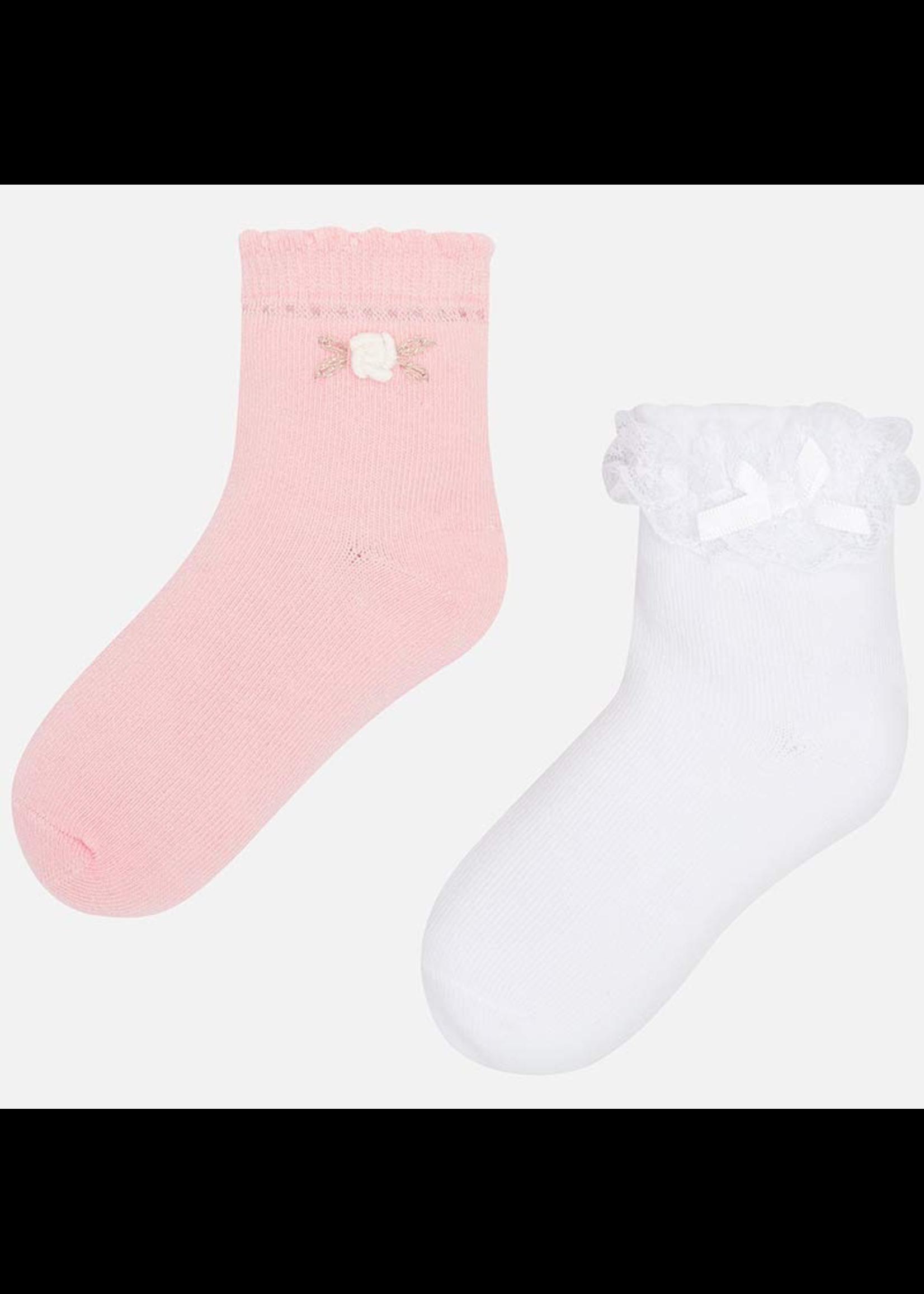 Mayoral Mayoral, Short Socks Set for Girl