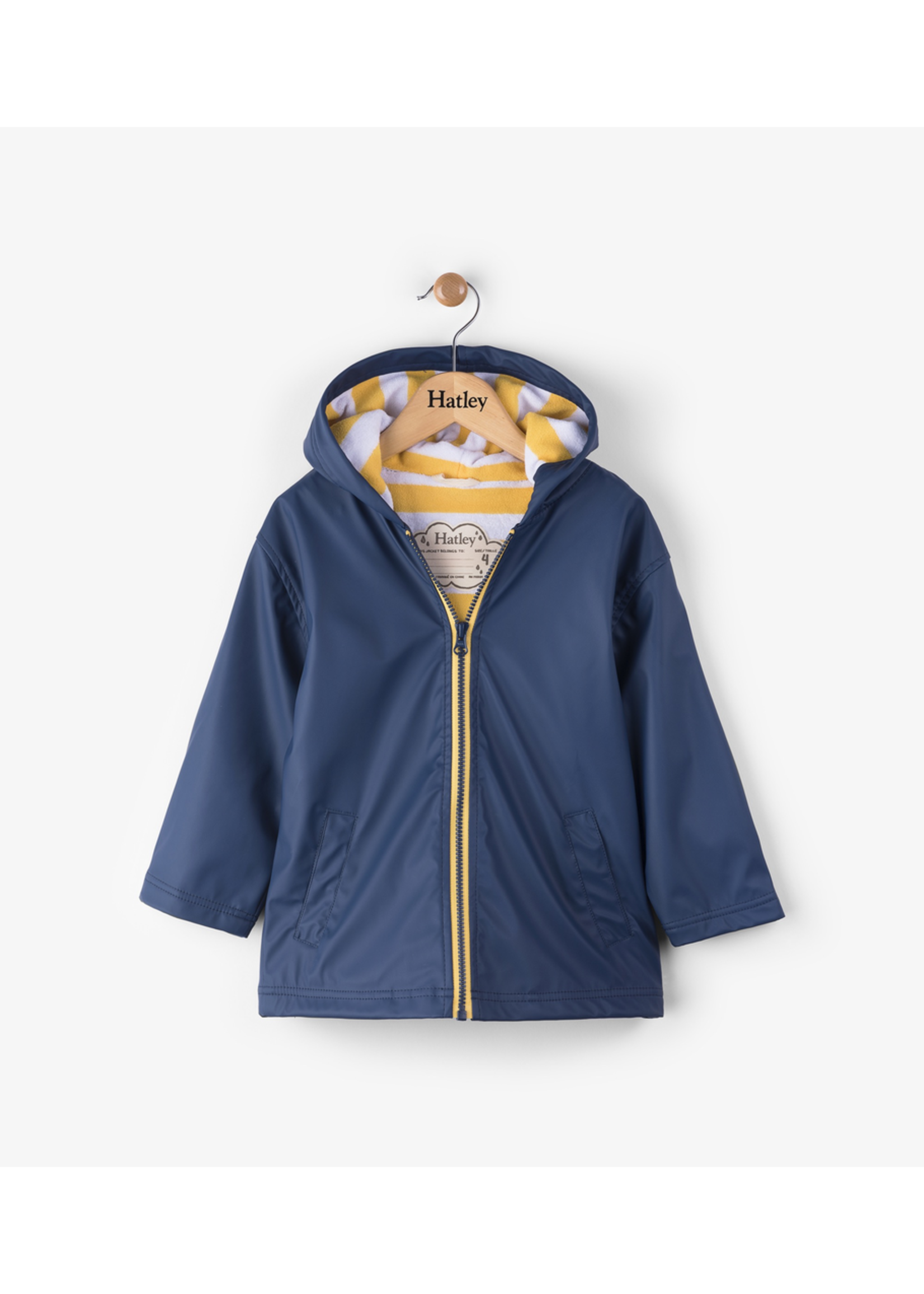 Hatley Hatley, Navy & Yellow Splash Jacket for Boy