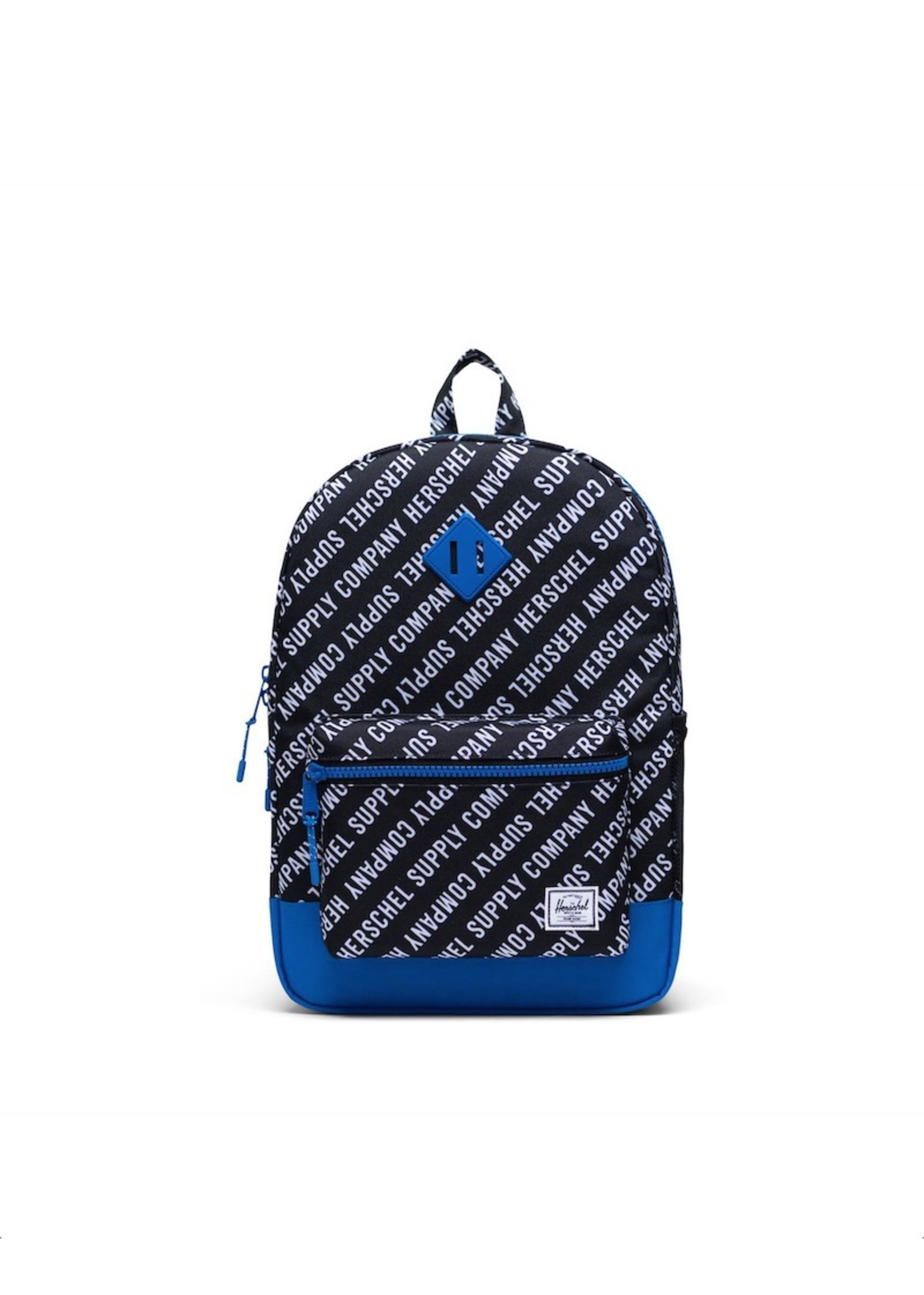 Herschel Supply Co. Herschel Supply, Heritage Backpack   Youth XL, Roll Call Black/White/Lapis Blue, 22L
