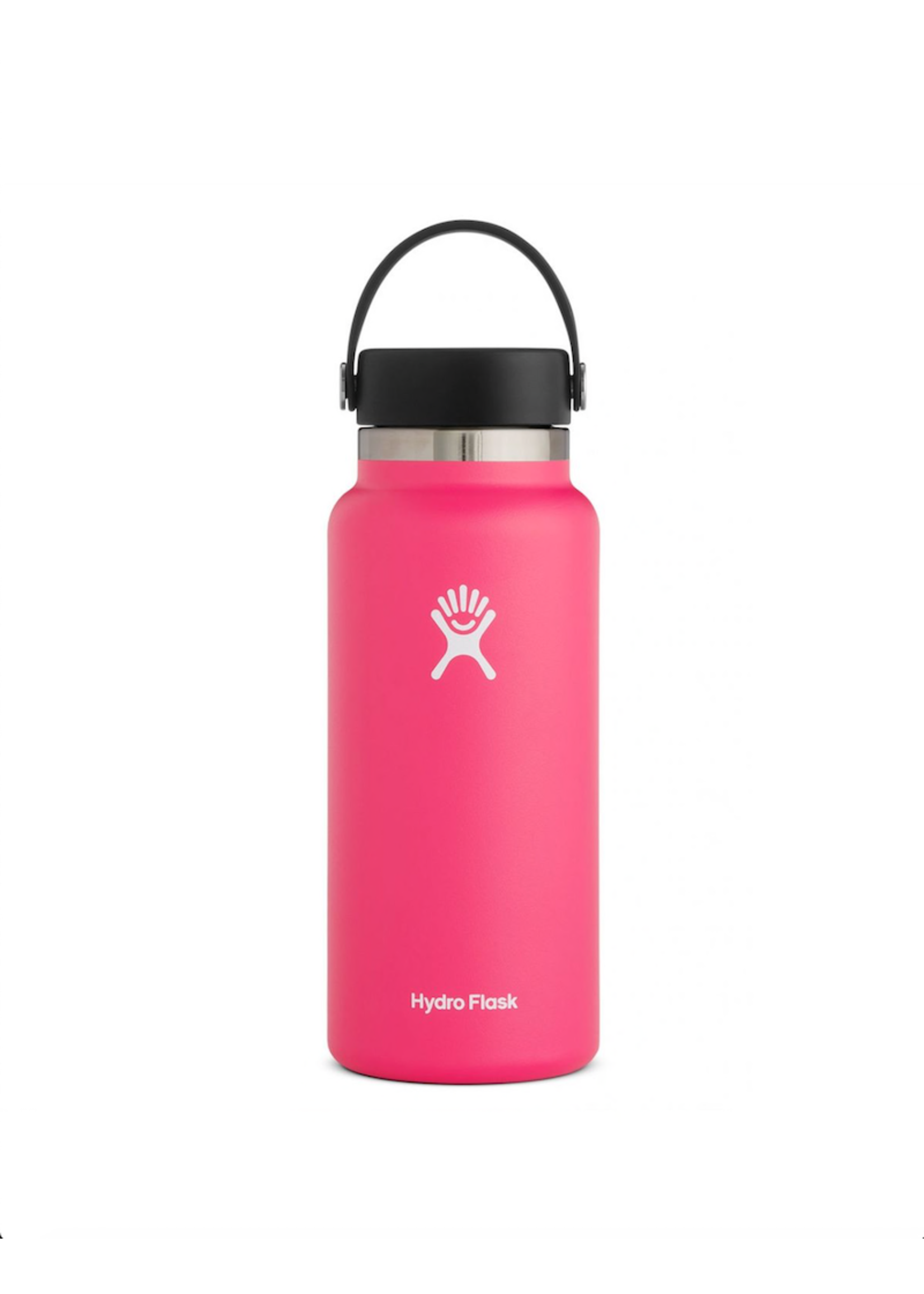 Hydro Flask Hydro Flask, 32 oz Wide Mouth 2.0  Flex Cap Insulated Stainless Steel Bottle in Watermelon