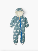 Hatley Hatley, T-Rex Sherpa Lined Colour Changing Baby Bundler