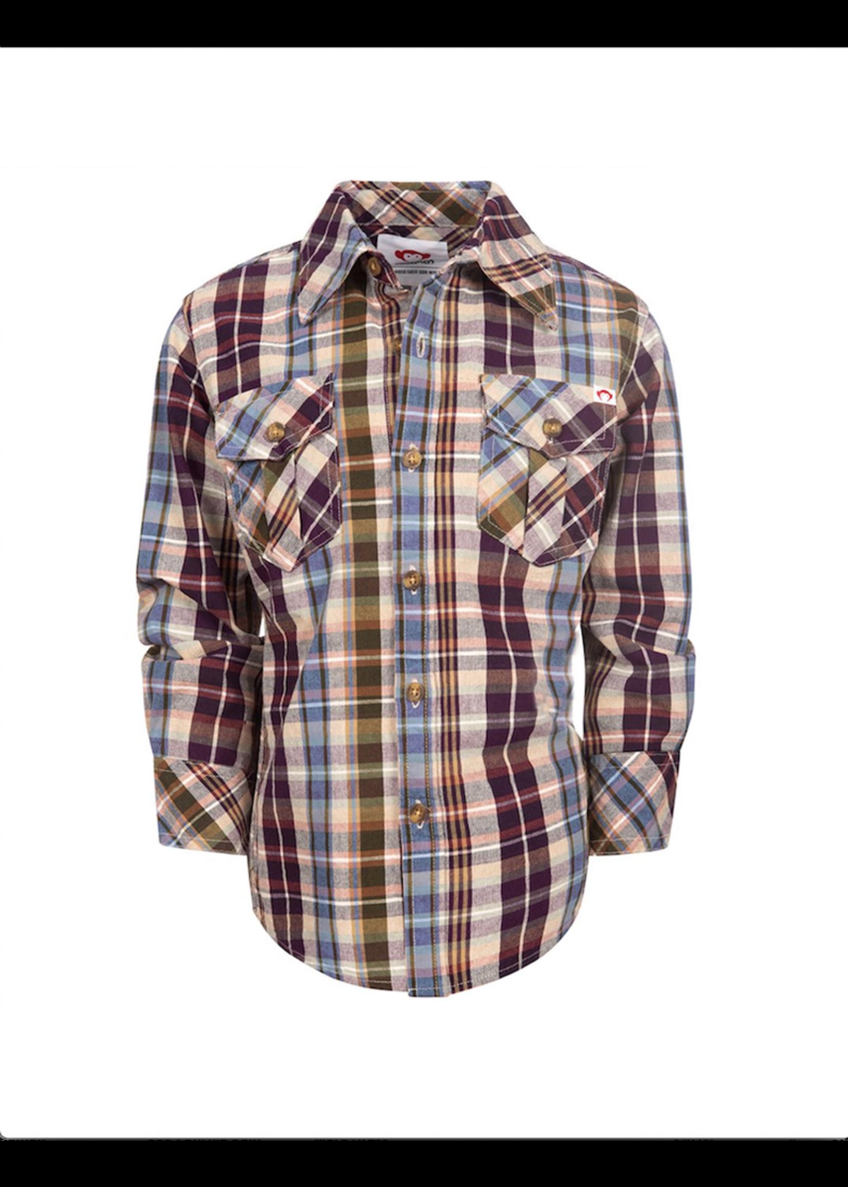 Appaman Appaman, Mecca Plaid Flannel Shirt