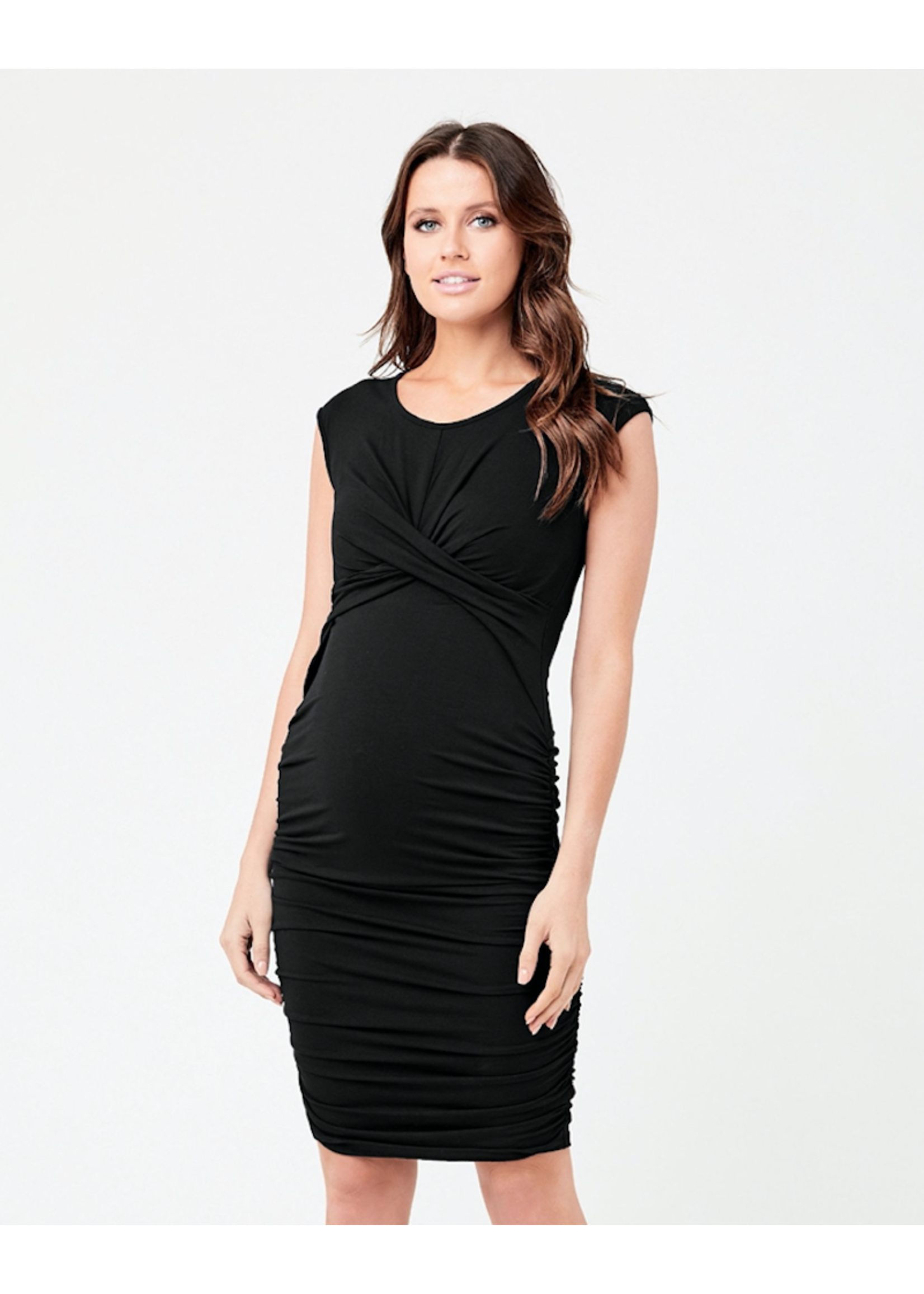 Ripe Maternity RIpe Maternity, Cross My Heart Dress, Black