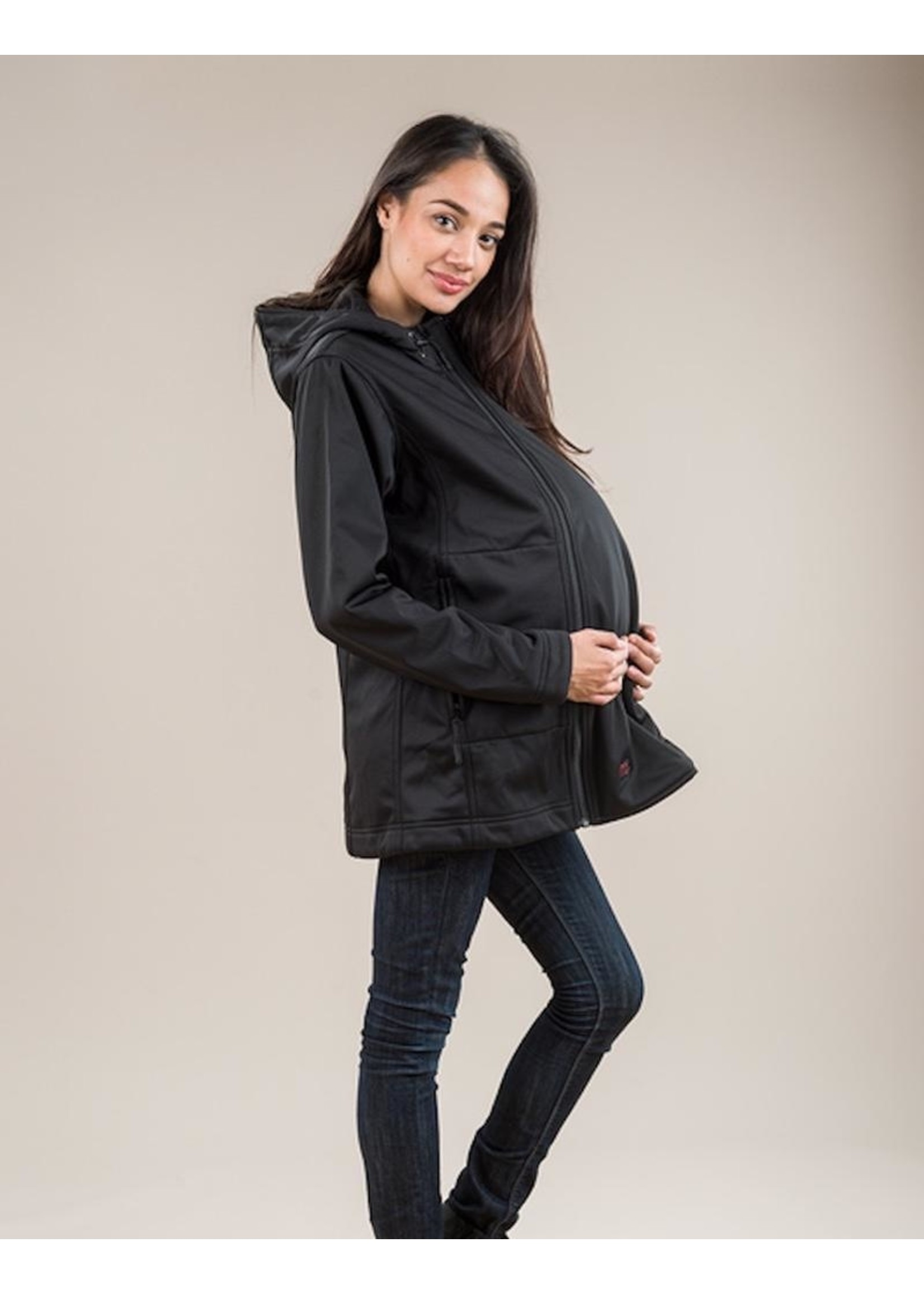 M Coat M Coat, M Shell Maternity & Carrier Cover Soft Shell Coat