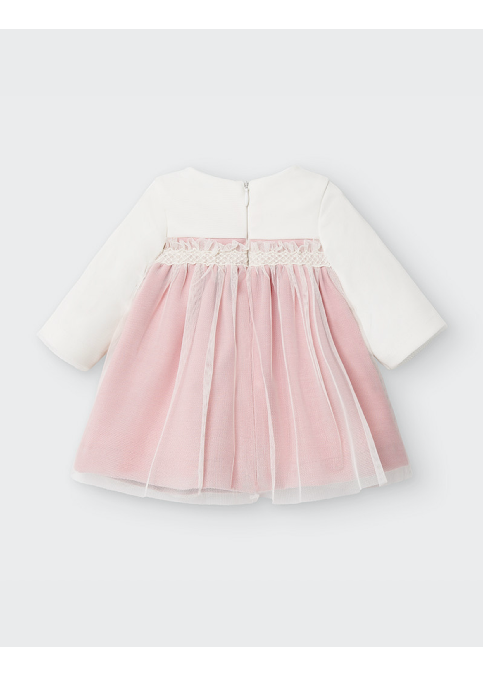 Mayoral Mayoral, Ceremony Dress Baby Girl Set in Candy
