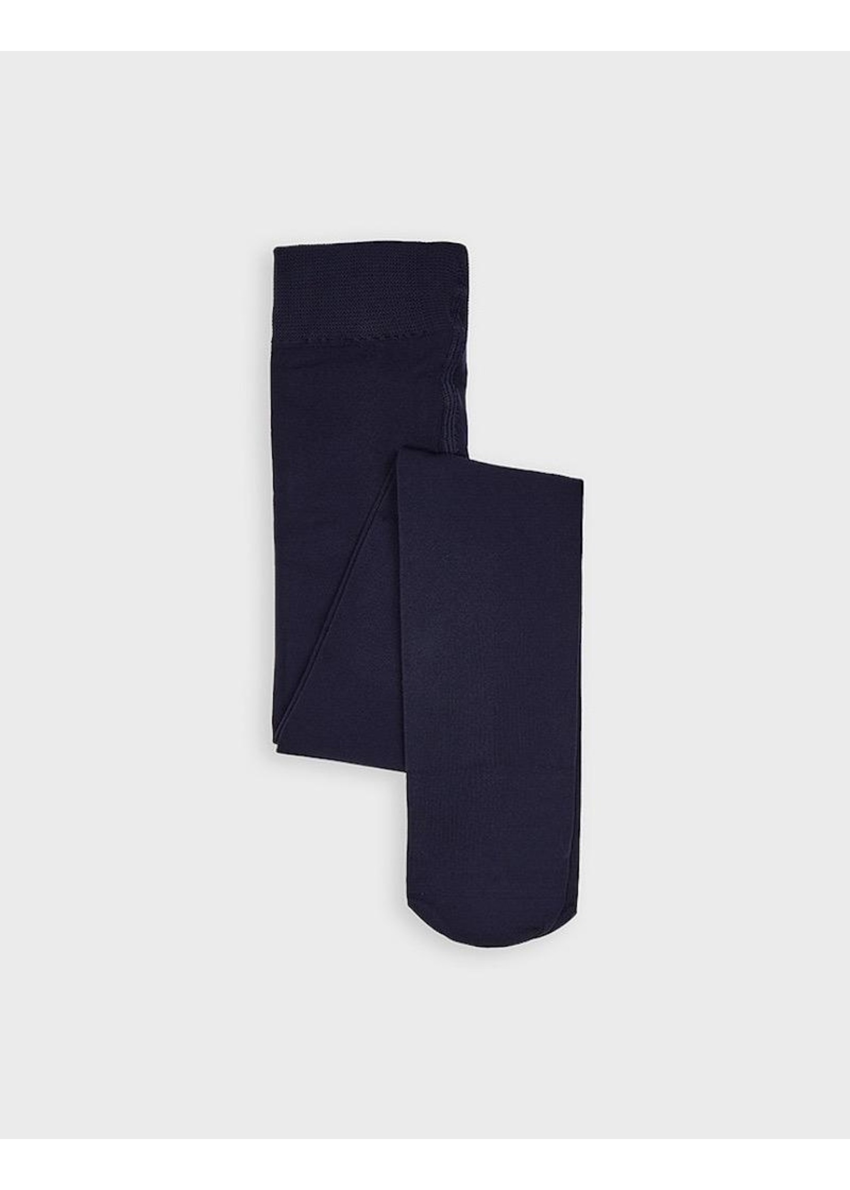 Mayoral Mayoral, Soft Girl's Tights in Navy Blue