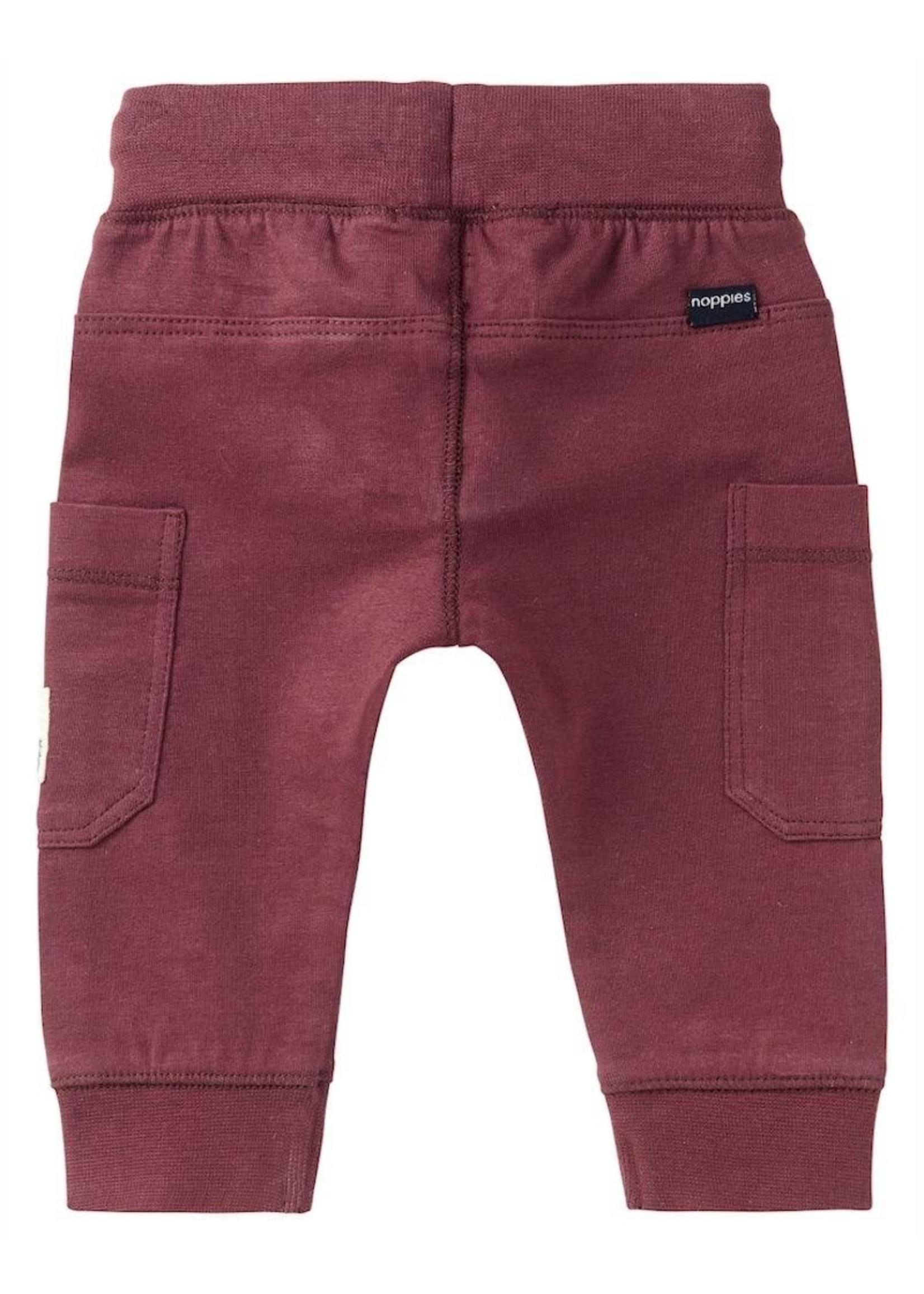 Noppies Kids Noppies Kids, Venterstad Baby Boy's Sweatpants in Dusty Red