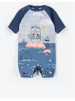 Souris Mini souris mini, Short-sleeve One-piece Swimsuit