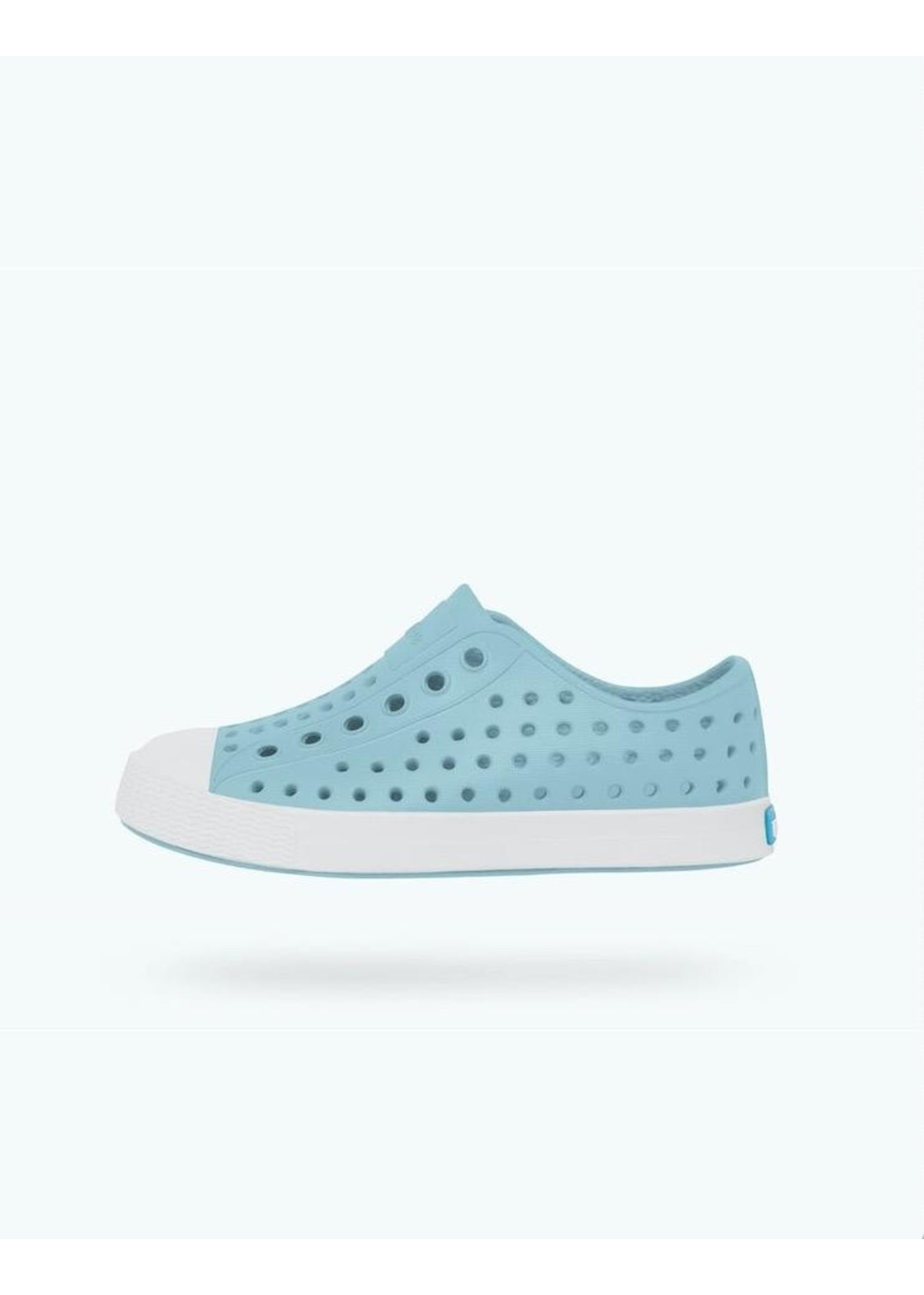 Native Shoes Native Shoes, Jefferson Youth / Junior Sky Blue/ Shell White