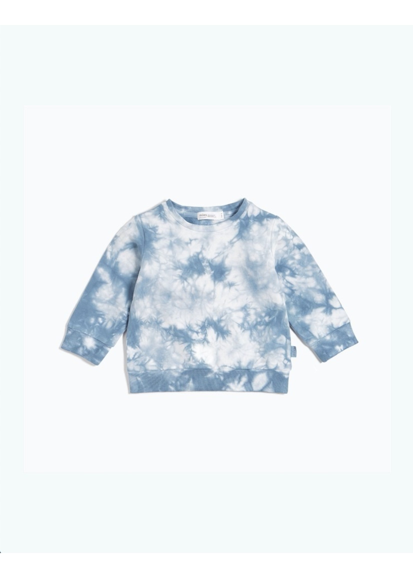 Miles Baby Miles Baby, Candy Sky Tie-Dye Sweatshirt