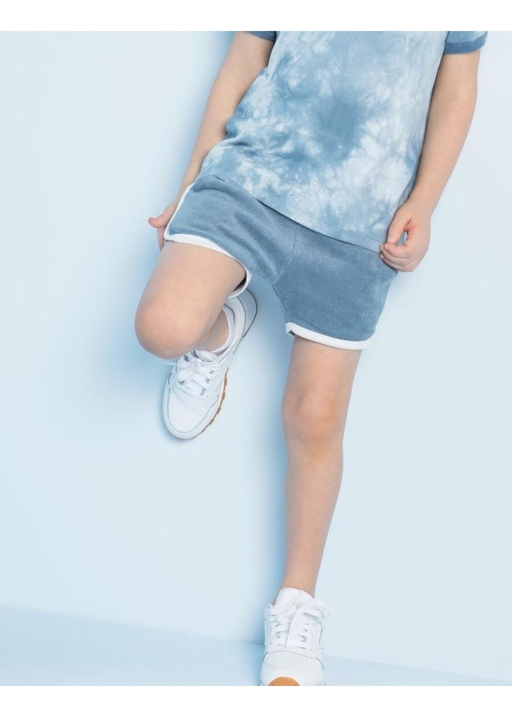 Miles Baby Miles Baby, Candy Sky Terry Cloth Shorts