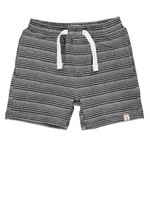 Me & Henry Me & Henry, Surf, Black & White Stripe Sweat Shorts