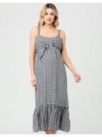 Ripe Maternity Ripe Maternity, Black & White Gingham Nursing Dress