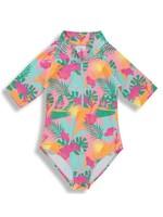 Birdz Children Birdz Children, Pink Jungle Girlz |Surfer Swimsuit|
