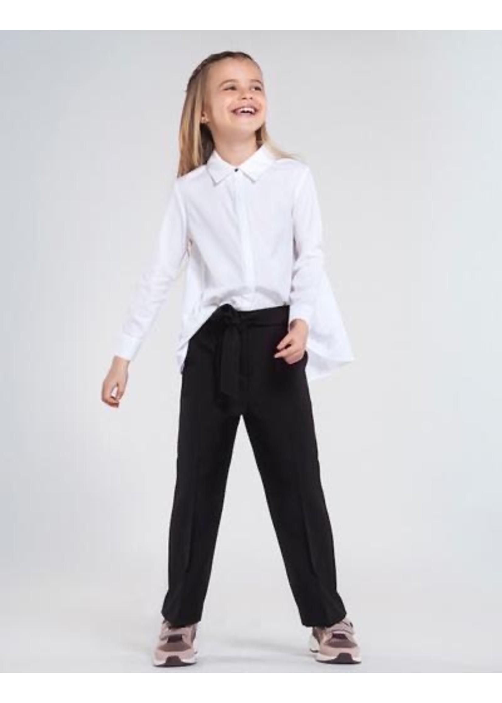 Mayoral Mayoral, Long Cropped Pants in Black