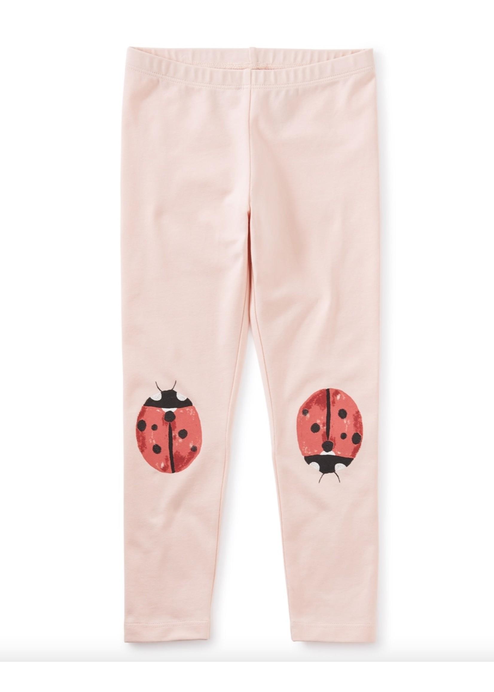 Tea Collection Li'l Ladybugs Leggings in Pink Salt
