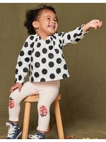 Tea Collection Boho Baby Top in Stamped Dots
