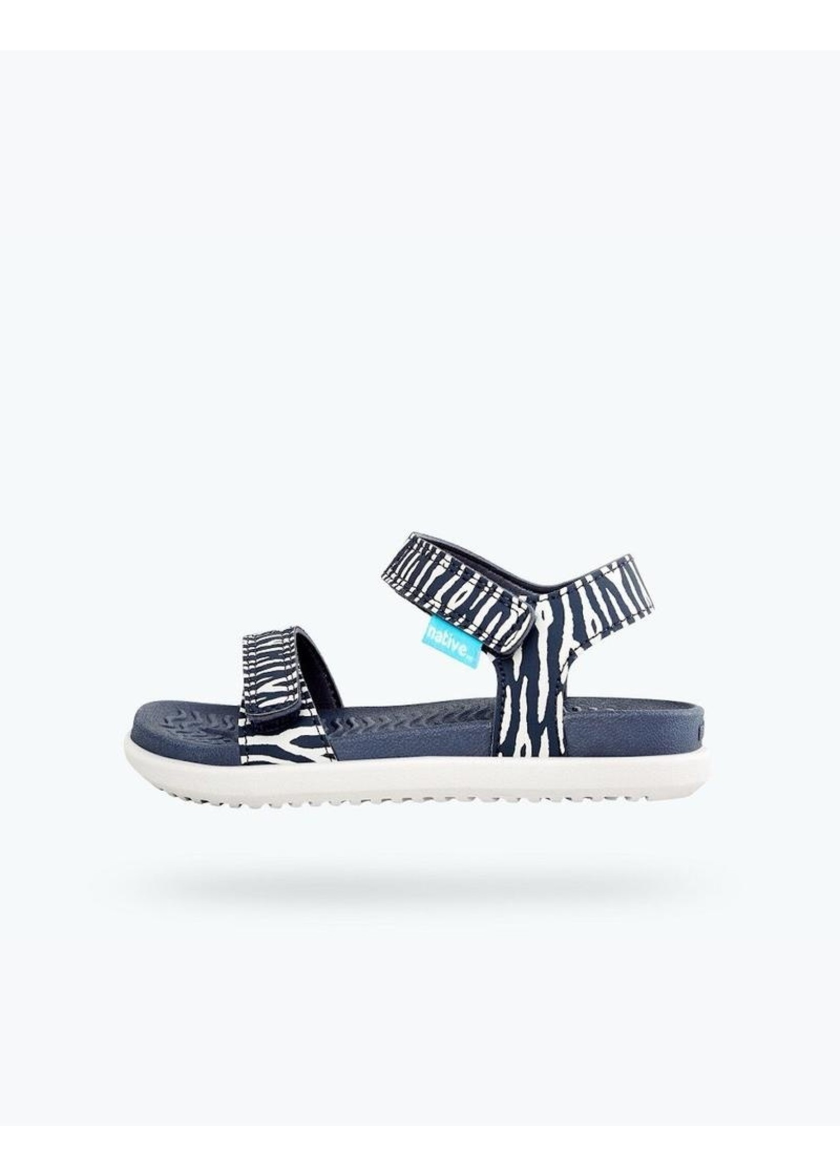 Native Shoes Native Shoes, Charley Print Youth in Darknite Grey/ Zinc Grey/ Zebra Cuddlefish