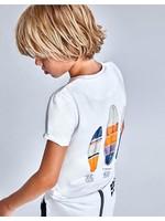 Mayoral Mayoral, 2 Surf Pint T-shirts Set with Shorts