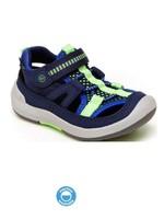 Striderite Stride Rite, Navy SRTech Wade Sneaker Sandal