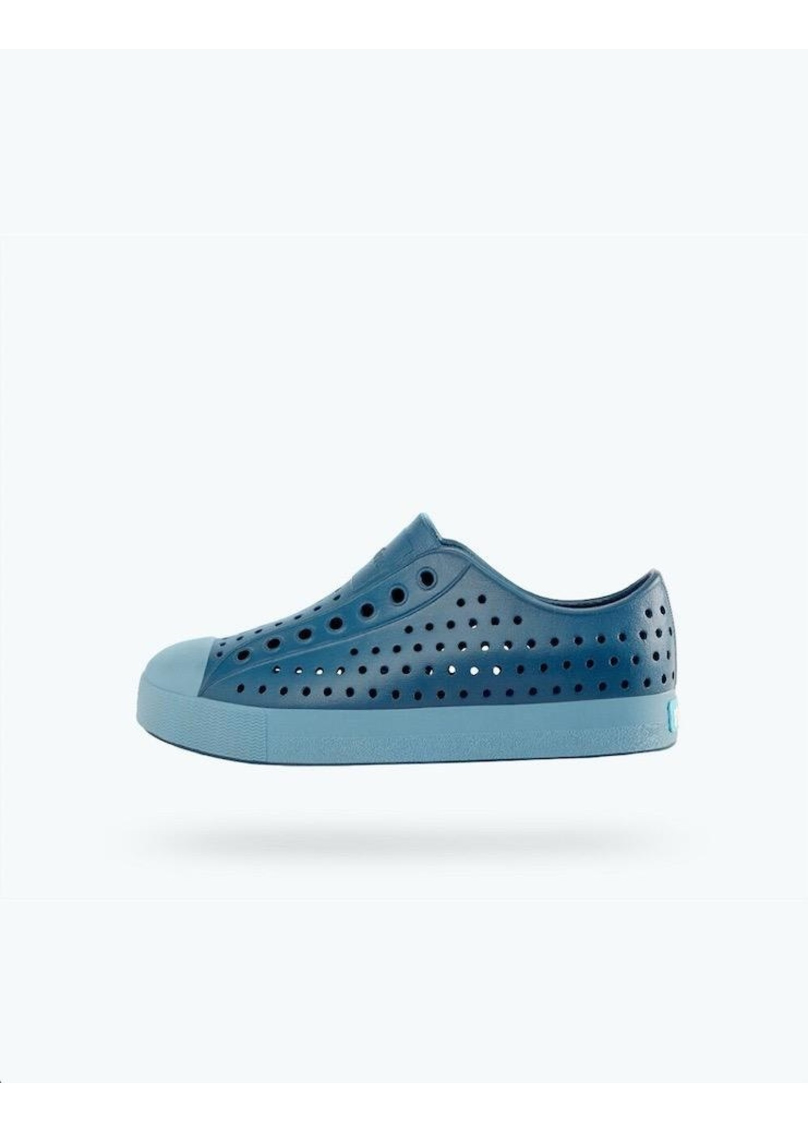Native Shoes Native Shoes, Jefferson Child Challenger Blue/ Still Blue