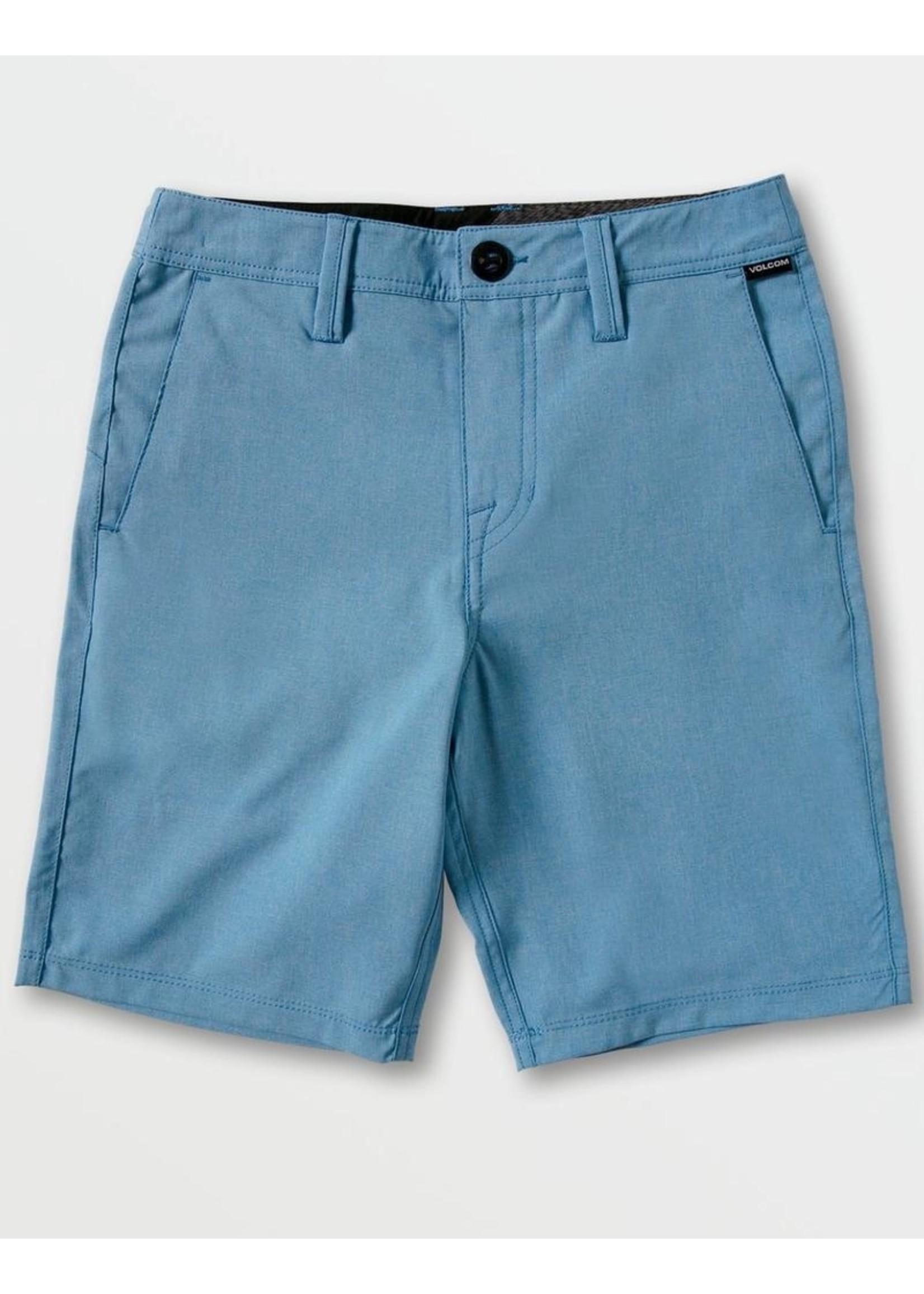 Volcom Volcom Kids, Big Boys Ballpoint BLue Fricken Surf N' Turf Static Shorts