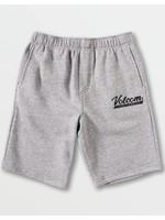 Volcom Volcom Kids, Little Boys Heather Grey Eastmont Sweatshirt Shorts