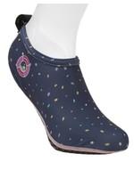 Duukies Duukies, Adult Beach Socks in Confetti Blue